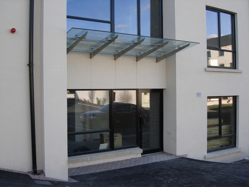 ... Cantilever Stainless Glass Canopy Rods ... : glass canopies ireland - memphite.com