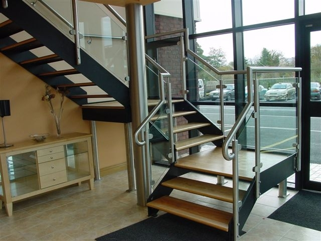 ... Open Riser Commercial Stairs