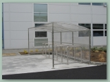 Bicycle Shelter Stainless Steel