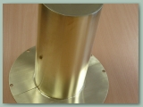Round Brass Guard