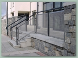 Stainless Mesh Balustrade
