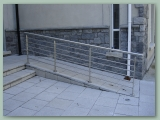 Stainless Balustrade to Ramp