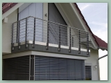Stainless Rod Balustrade to Balcony