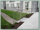 Stainless Rod Handrail