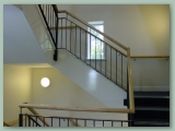 Mild Steel Balustrade Painted