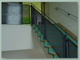 Perforated Steel Balustrade