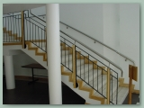 Metal Wood and Stainless Balustrade