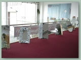 Stainless and Glass to Mezzanine