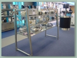 Stainless Shop Display
